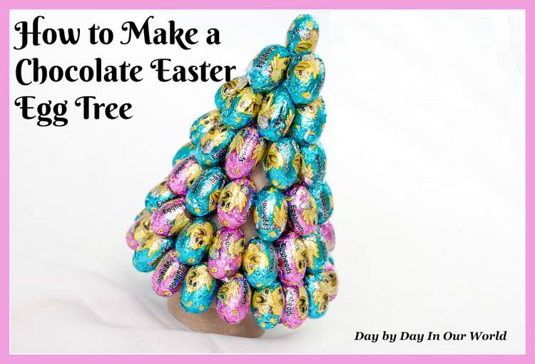 How to Make a Chocolate Easter Egg Tree