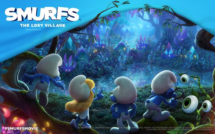 The Smurfs are back in theaters with a new animated, feature length film.