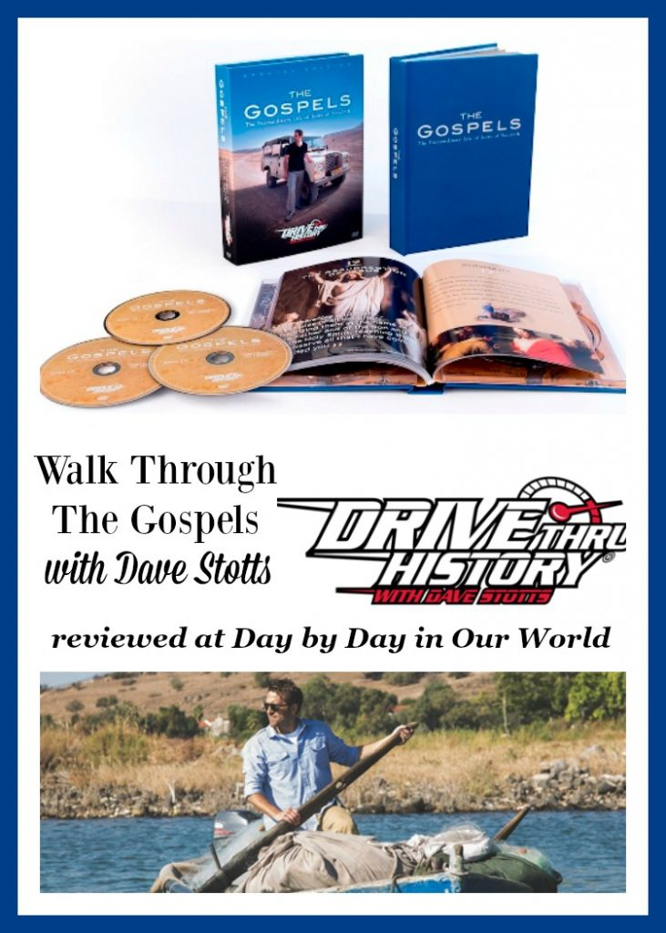 "Walk Through The Gospels with Dave Stotts of Drive Thru History. Review of DRIVE THRU HISTORY® – ""THE GOSPELS"""