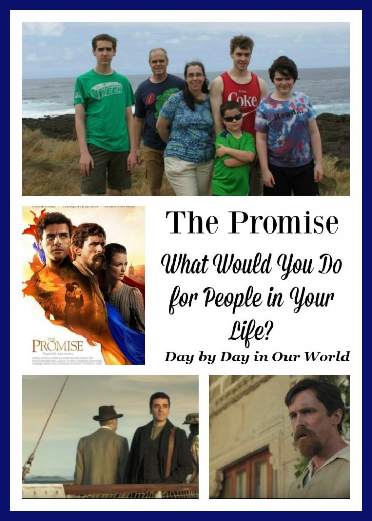 What Would You Do for People in Your Life? The Promise