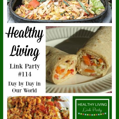 Healthy Living Link Party #114