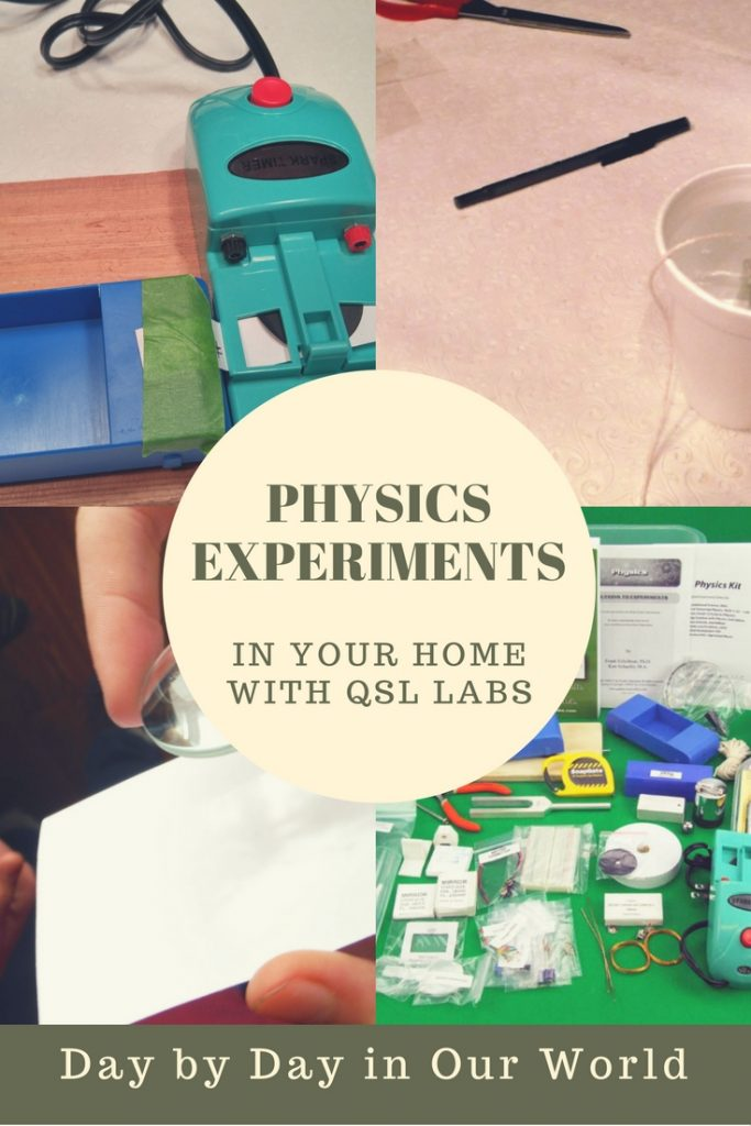 Need an easy way to add labs to your high school science classes? See how the Quality Science Labs Physics Kit can help.