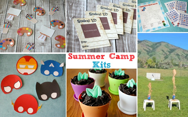 Set your kids up for fun adventures with a summer camp kit