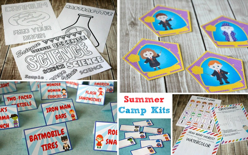 These summer camp kits provide everything you need for hours of fun.