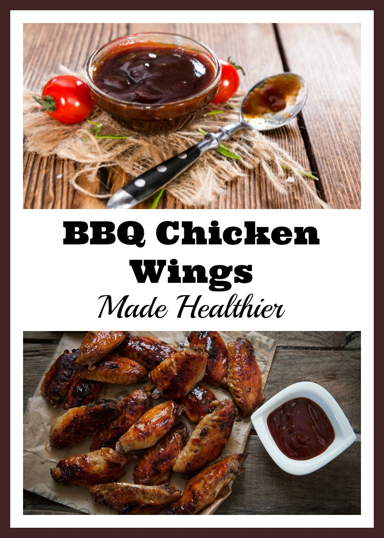 Enjoy BBQ Chicken Wings made healthier at home