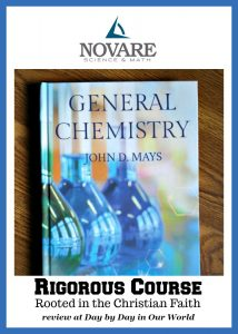 Looking for a rigorous high school course rooted in the Christian faith for high school science? Consider General Chemistry from Novare.