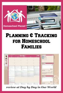 Have your planning and tracking needs met by Homeschool Planet