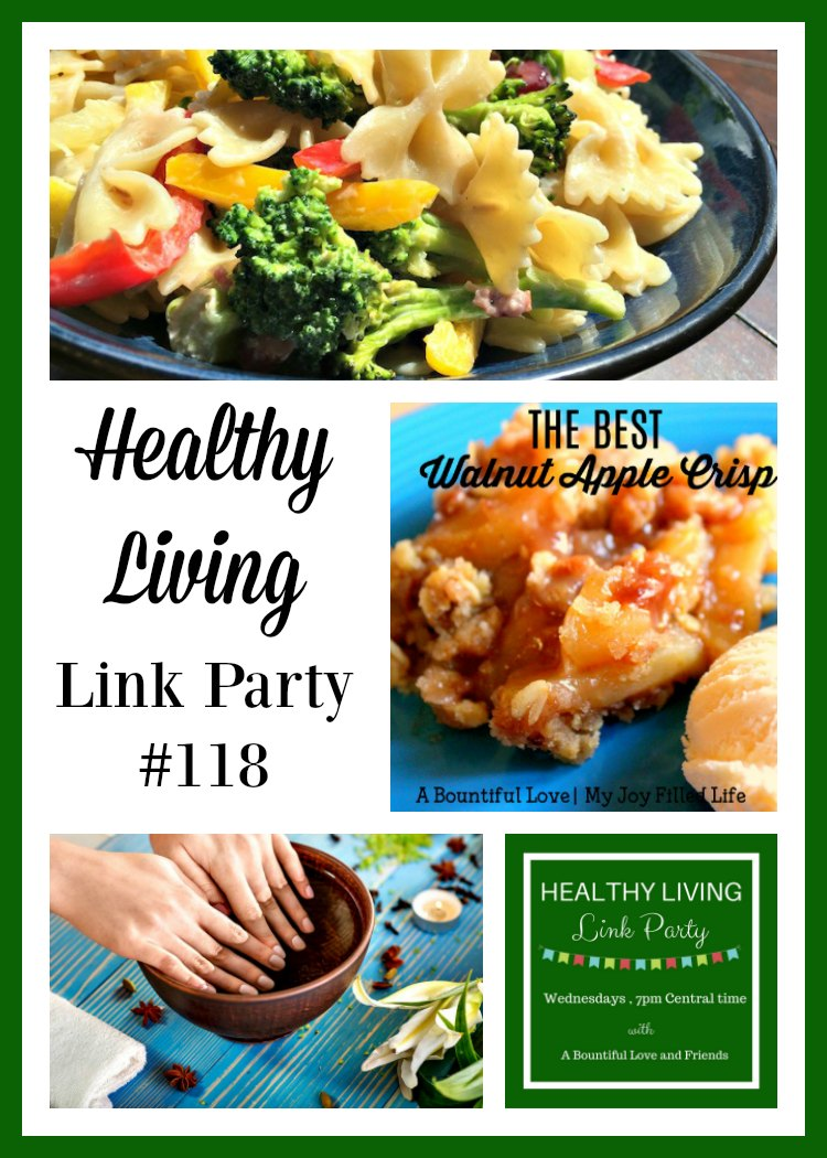 Healthy Living Link Party #118