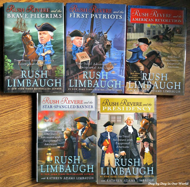 The Adventures of Rush Revere is a series of books by Rush Limbaugh that present American History.