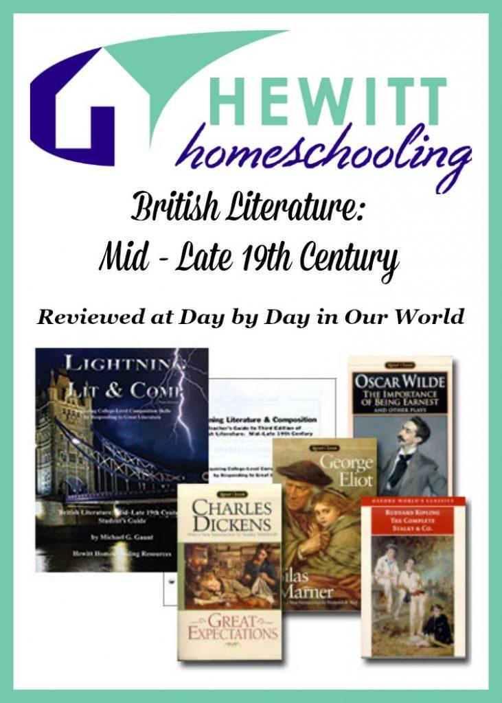 British Literature Mid Late 19th Century from Hewitt Homeschooling