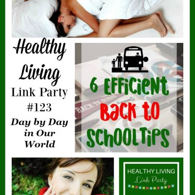 Healthy Living Link Party #123