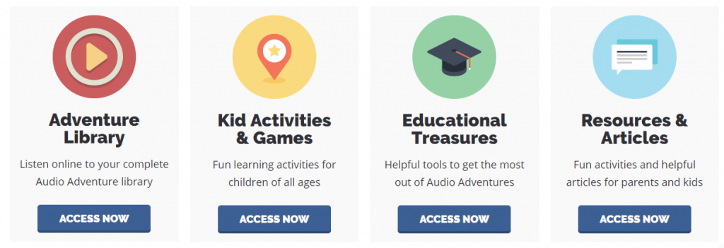 Several Resources are available to Live the Adventure Club