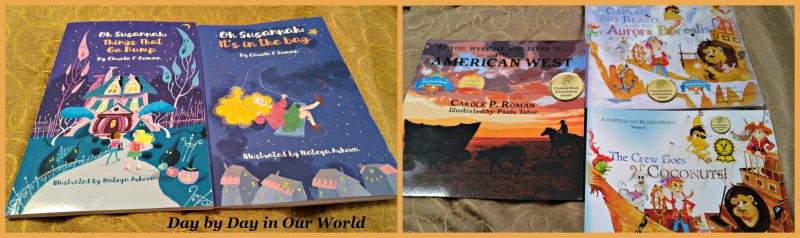Chapter Books, Children's History and Imaginary Captains are among the titles written by Carole P. Roman