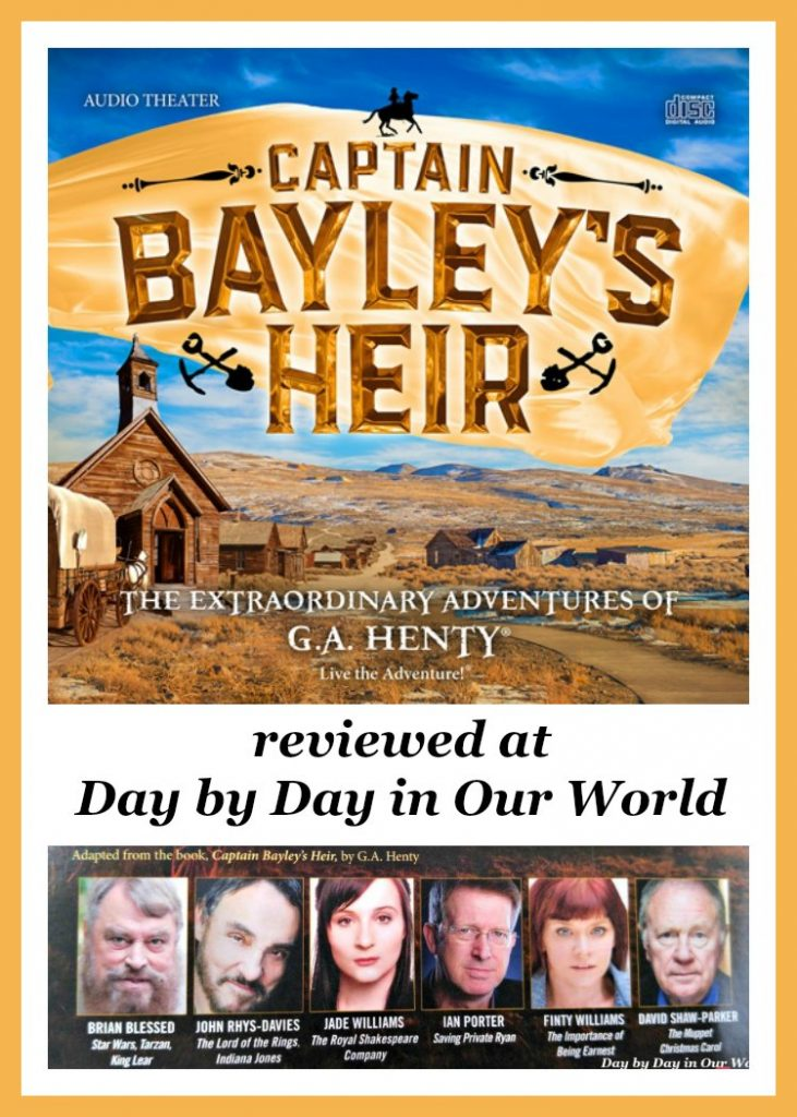 Experience the Old West in Captain Bayley's Heir from Heirloom Audio Productions