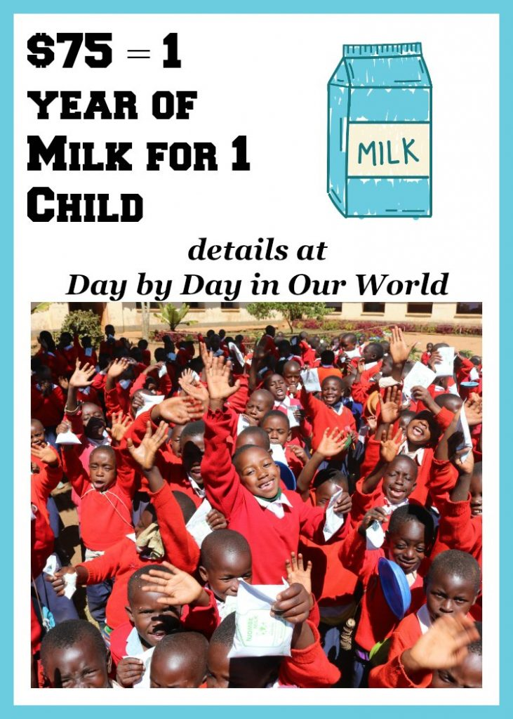 Helping Others Through Small Sacrifices to fund Heifer International's School Milk Feeding Program