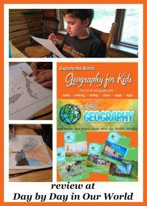 Kids Homeschool Geography Explore the World Week by Week