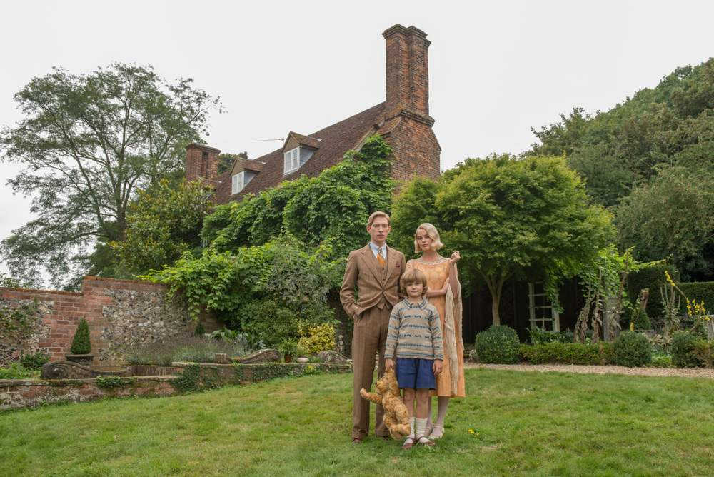 Goodbye Christopher Robin has A.A. Milne seeking solace in the countryside of England.