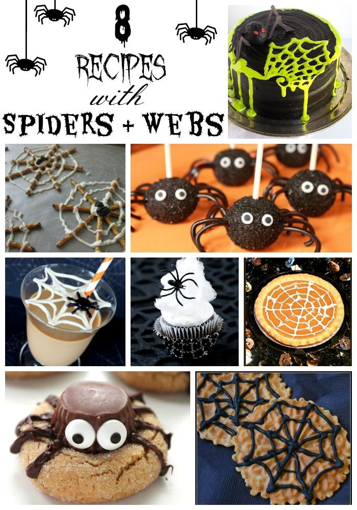 8 Spider & Spiderweb Treats