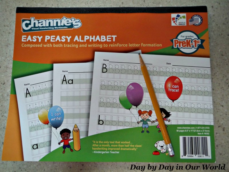 Easy Peasy Alphabet from Channie's Visual Handwriting