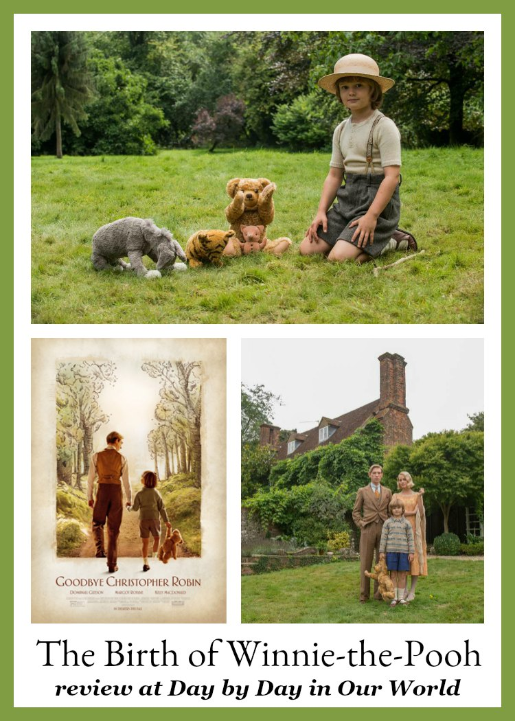 Goodbye Christopher Robin Review at Day by Day in Our World
