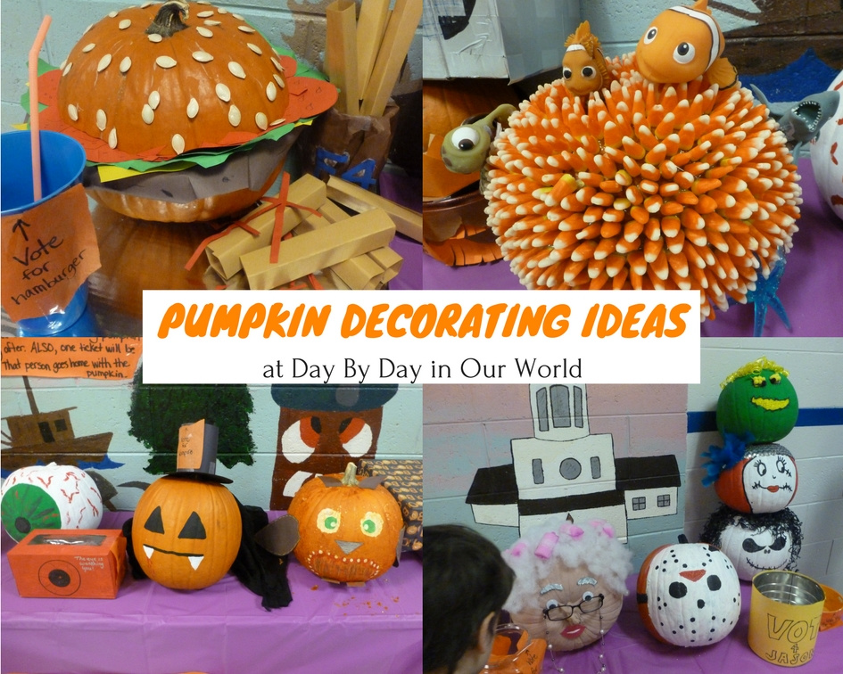 Halloween Trunk or Treat Fun with Awesome Pumpkin Decorating Ideas