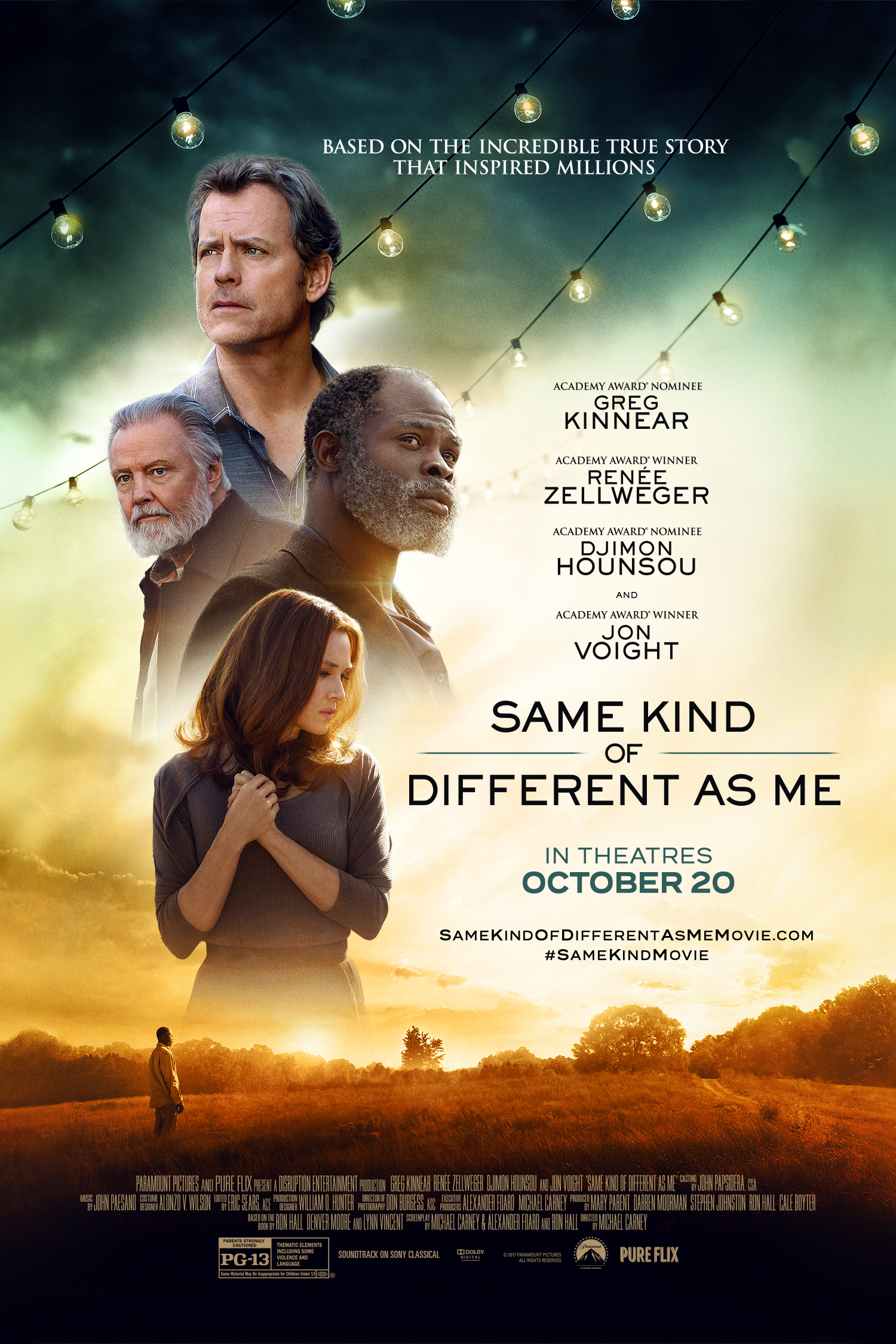Same Kind of Different As Me Movie Based on a book, this is the story of people helping each other and finding out that we are not as different as we might think. Releases in theaters 10/20/17 #SameKindMovieL3 #ad