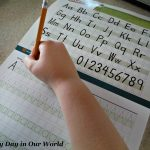 Visual Handwriting for Early Elementary