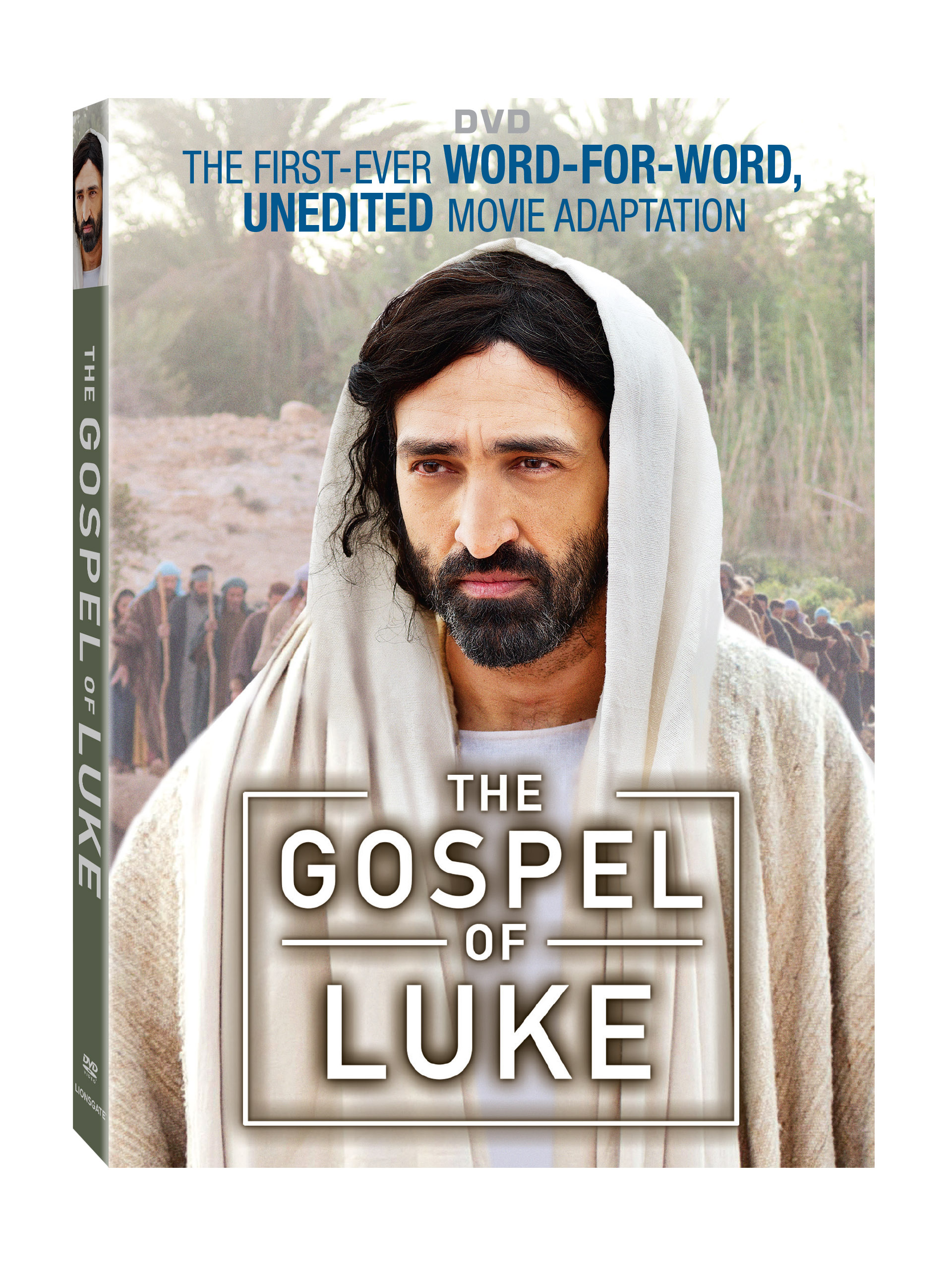 The Gospel of Luke on DVD is a word for word production shot on location.  Bring The Bible to life in your home! #ad #rwm #thegospelofluke