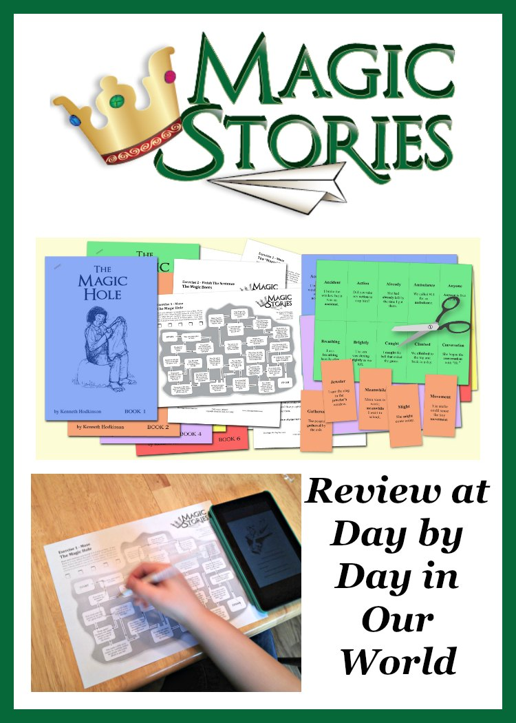 Looking for beginning readers that offer good morals in each story?  Want to help your child develop critical language arts skills in the process? Come see how The Magic Stories can help! Review from using with my 2nd-grade son who reads books above grade level. #hsreviews