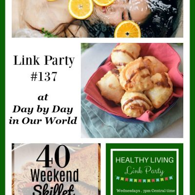 Healthy Living Link Party #137