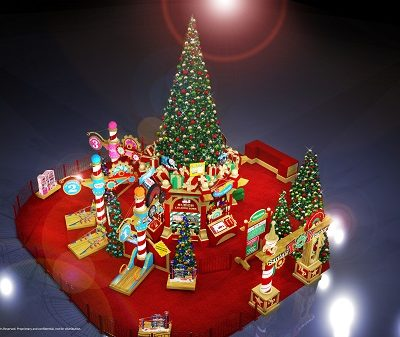 Santa's Toy Factory at SouthWest Plaza in Denver
