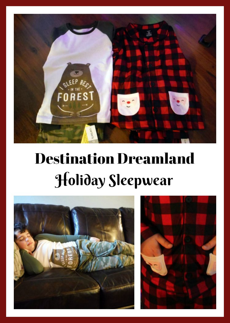 Destination Dreamland from Carter for Holiday Sleepwear available at Kohls