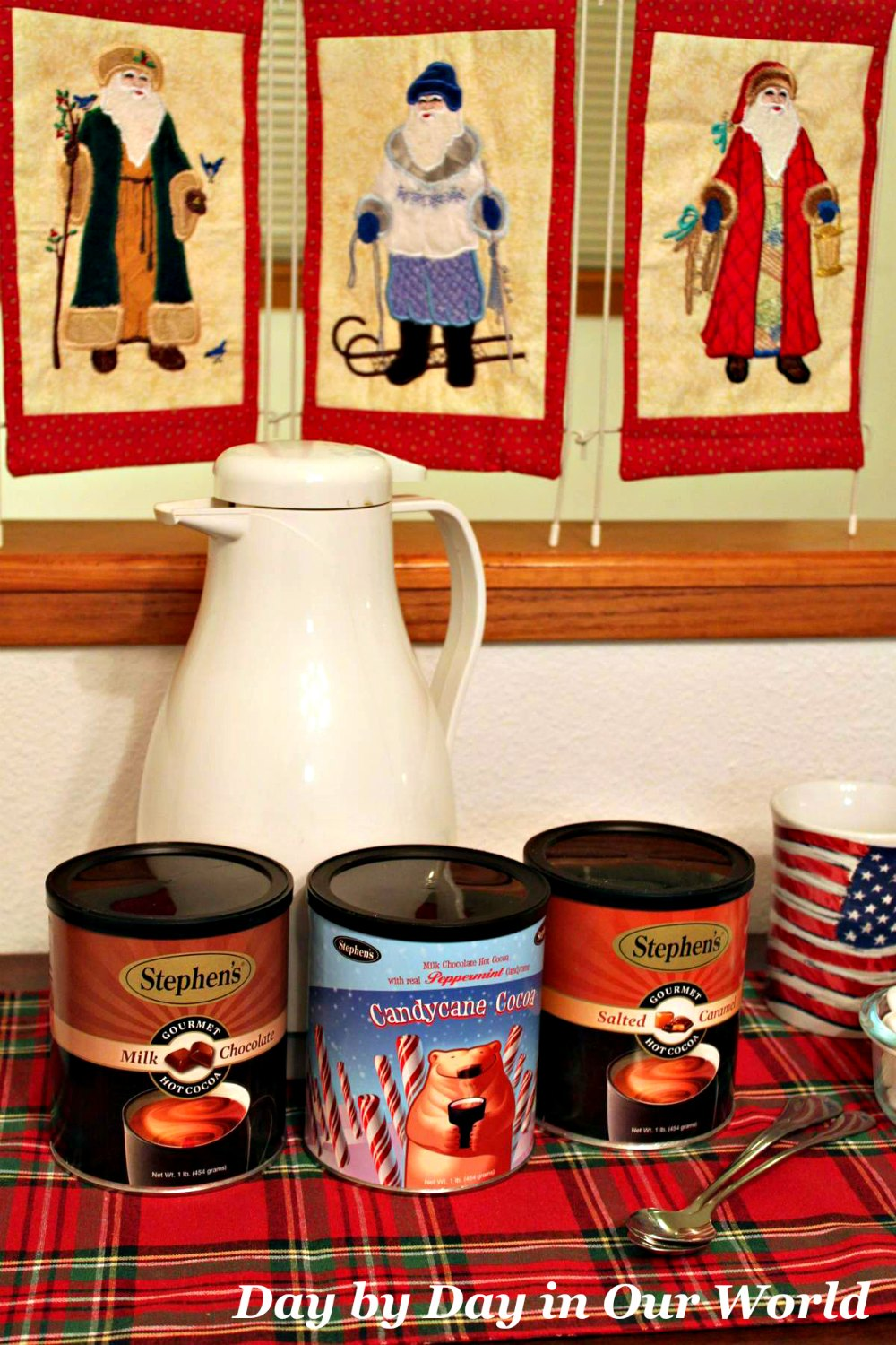 Stephens Gourmet Hot Cocoa for warming bellies and hearts.