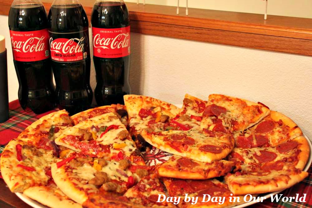 When Life Gets Busy Have an Easy Speedy Meal. Coca-Cola & Kroger Fresh Ready to Heat Pizza makes it possible.