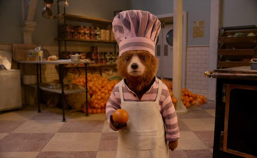 Paddington Bear takes a series of odd jobs