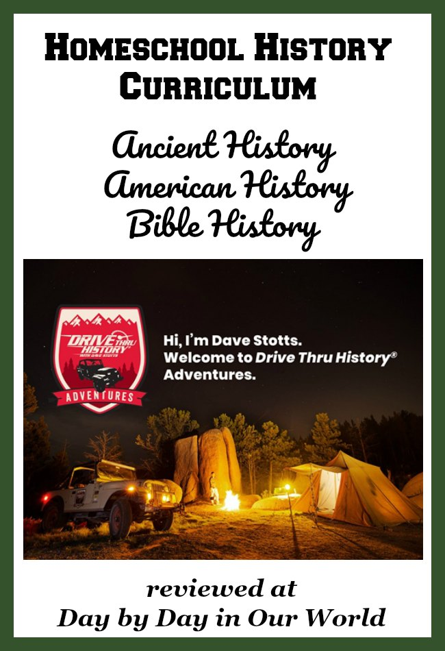 Planning to study Ancient History, early American History or Bible History (Gospels) with your family? Want a program with a Christian worldview embedded in it? See why Drive Thru History Adventures could be the perfect fit. Read our review & see why we enjoy it.