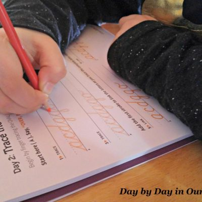 Teaching Cursive Letters with CursiveLogic