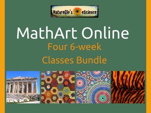 MathArt Online 4-Class Bundle