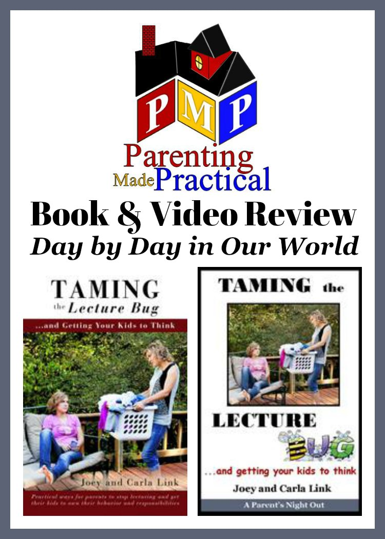 Feel like parenting is hard some days? Struggling to get the kids to do their work without constant reminders or lectures? Learn from The Links at Parenting Made Practical! Read this review of Taming the Lecture Bug and Getting Your Kids to Think, both the book and video.  Christian Parenting | Parenting | Review