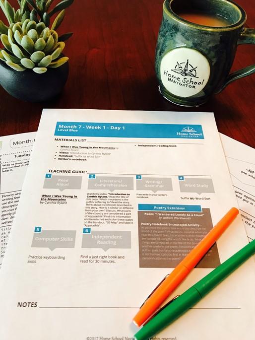 Homeschool Navigator for Reading Strategies