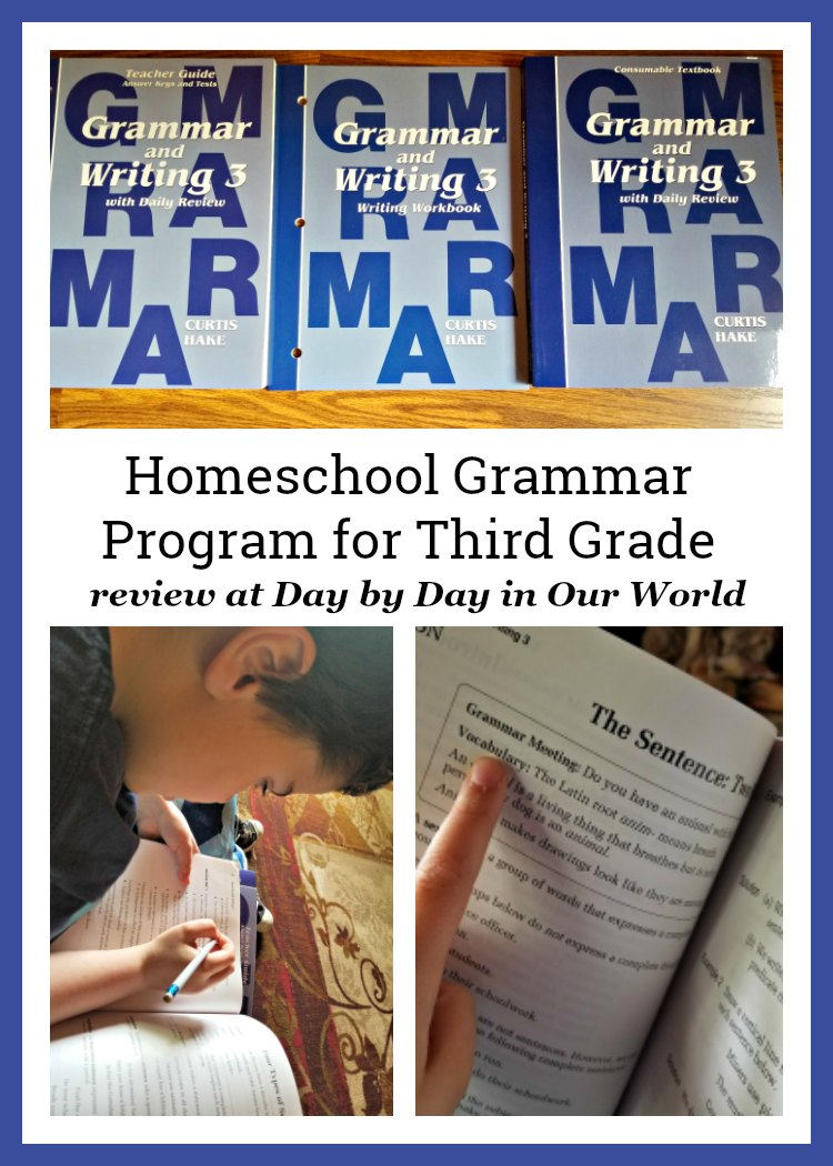 Homeschool Grammar Program for Third Grade