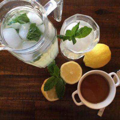 Fresh Ginger and Lemongrass Lemonade