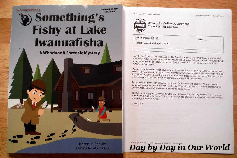 Something Fishy at Lake Iwannafisha for Developing Thinking Skills