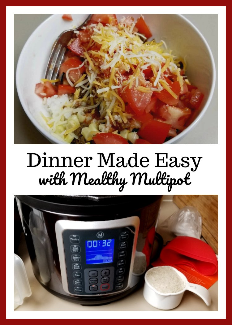 Dinner Made Easy with Mealthy Multipot
