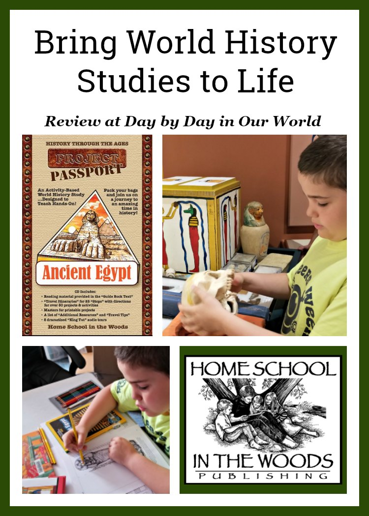 Bring World History Studies to Life Ancient Egypt from Home School in the Woods
