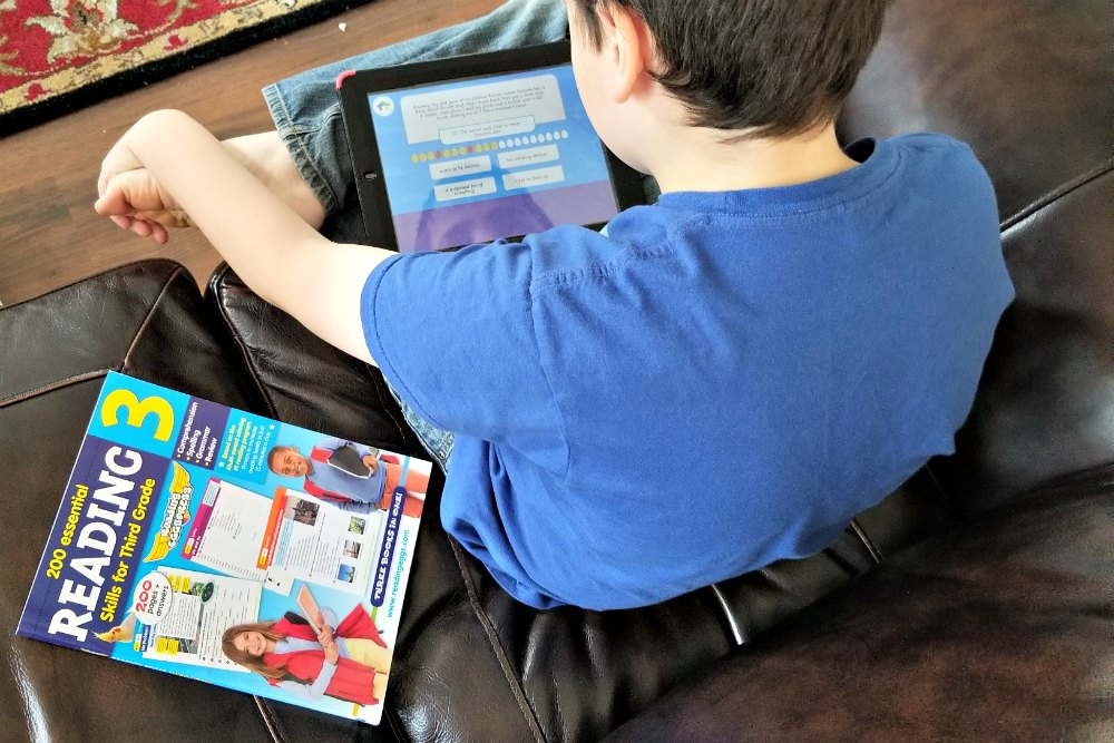 Reading Eggspress and associated workbook Reading For Kids