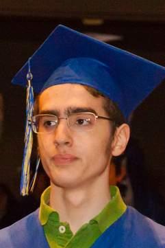 R is now a high school graduate