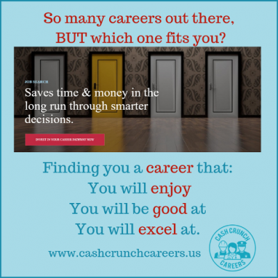 Find Out What Careers Best Suit You with CashCrunch Careers