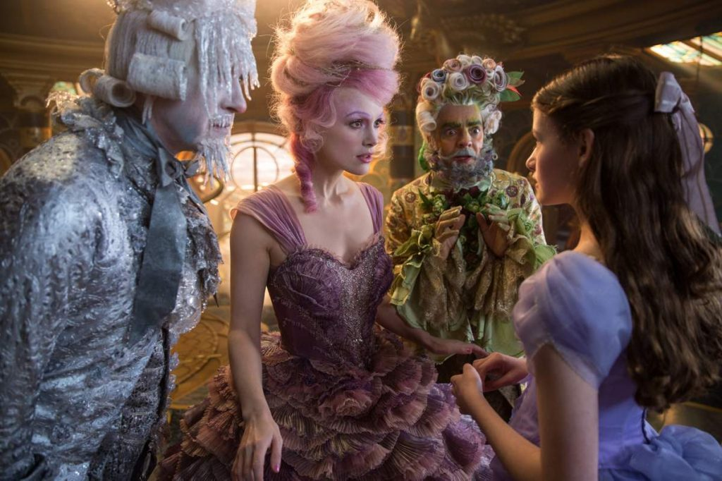 Meeting the Reagents in The Nutcracker and the Four Realms