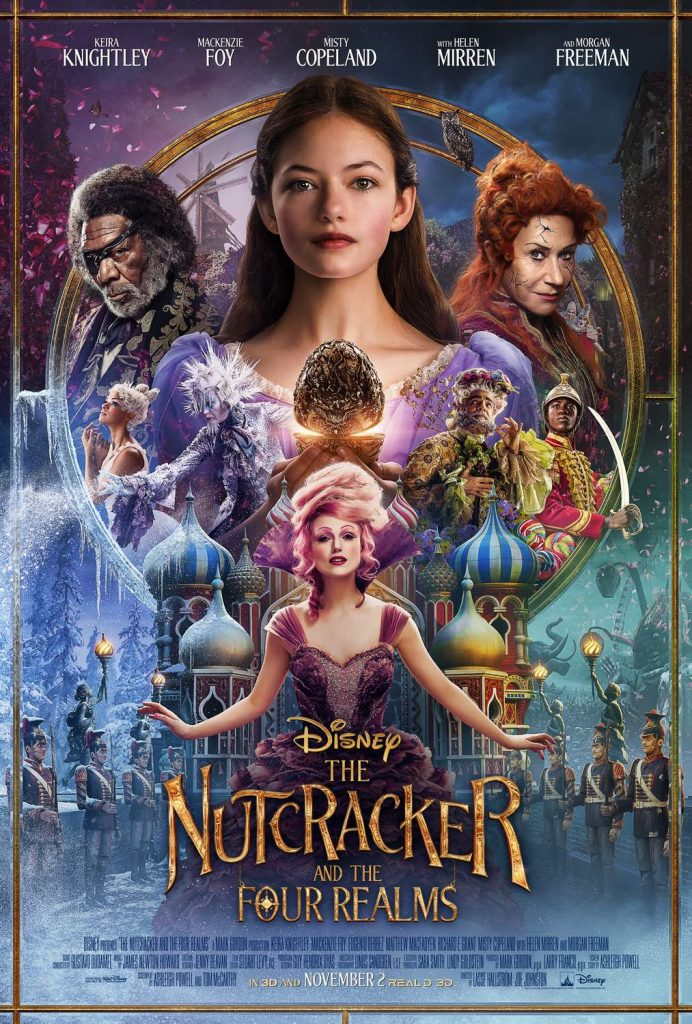 Disney's The Nutcracker and the Four Realms Movie Poster